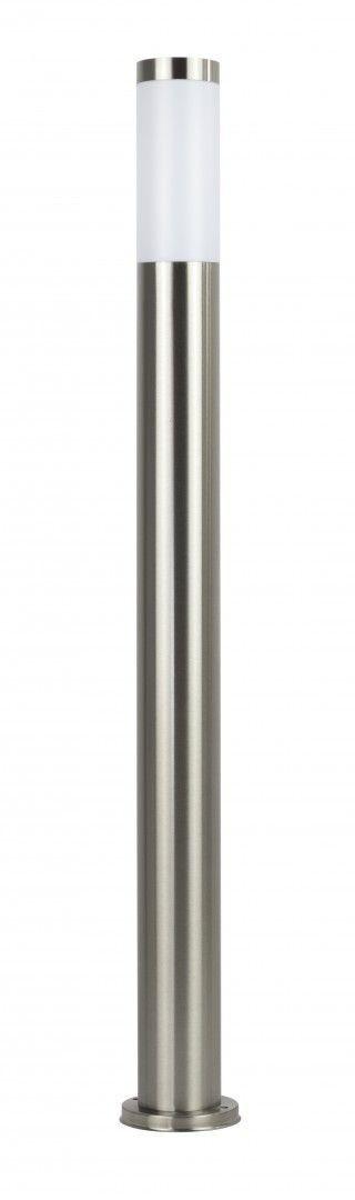 Lampa stojąca ogrodowa Inox ST 022-1100 Stal nierdzewna IP44 - Su-ma // Rabaty w koszyku i darmowa dostawa od 299zł !