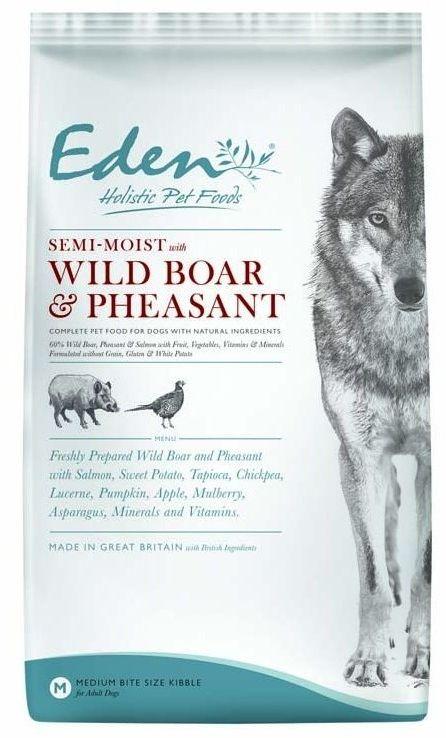 Eden semi-moist Wild Boar & Pheasant 2kg