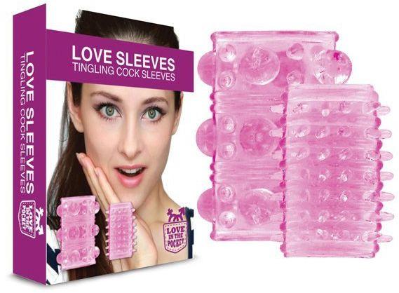 Nakładki na penisa - Love in the Pocket Love Sleeves Tingling