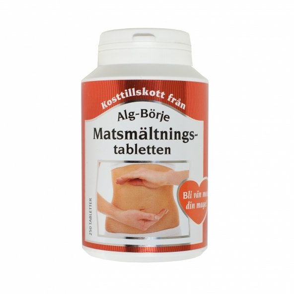 Tabletki Usprawniające Trawienie, Suplement Diety, Matsmältnings-tabletten, Alg-Börje