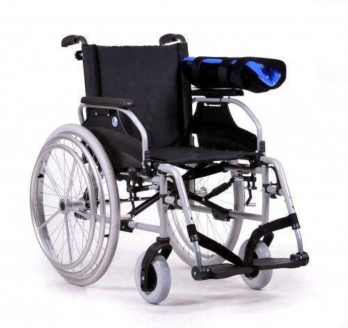 Wózek aluminiowy dla osoby po paraliżu jednostronnym D200 Hem2