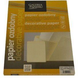 """Papier ozdobny ARGO """"HOLLAND KREMOWY"""" 100g /206302/"""