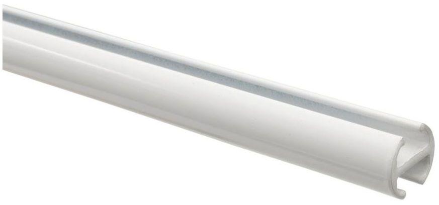 Profil szyna sufitowa 160 cm biały aluminiowy 20 mm okrągły