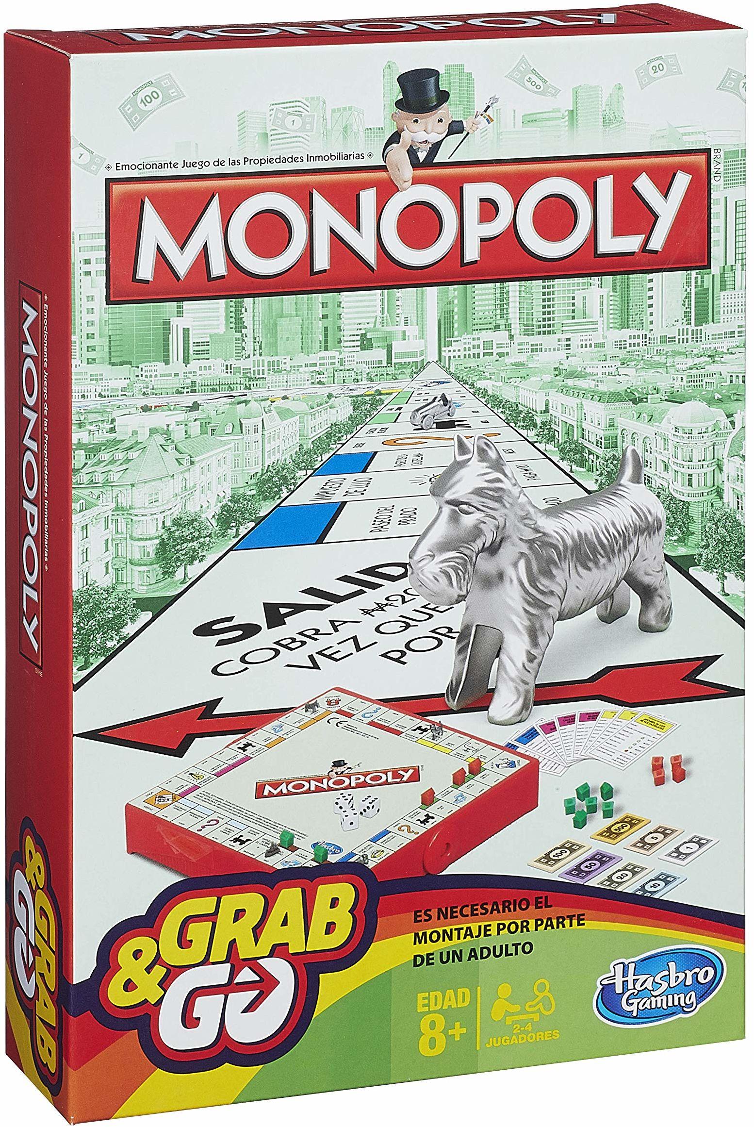 Hasbro - Monopoly Travel [Parent] wydanie hiszpańskie