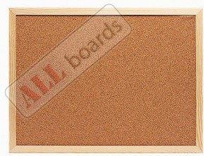 Tablica korkowa (rama drewniana) 80x50 cm