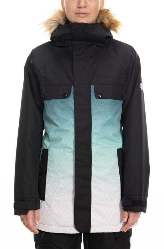 kurtka 686 - Dream Insulated Jacket Black Diamond Sub (BLDM)