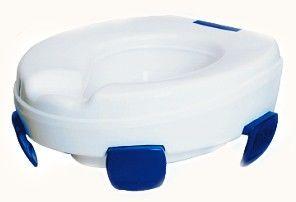 Nakładka toaletowa podwyższająca z uchwytami (clipperII)