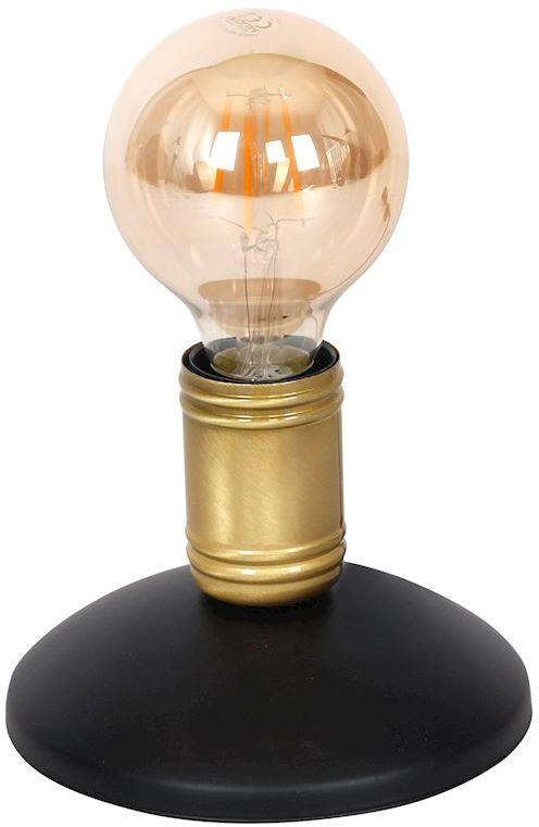 Milagro DYLAN MLP4808 lampa stołowa czarny / mosiądz metal 1xE27 13cm