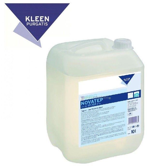 KLEEN NOVATEP  - 10L koncentrat i odplamiacz (2w1) w płynie do odkurzaczy piorących