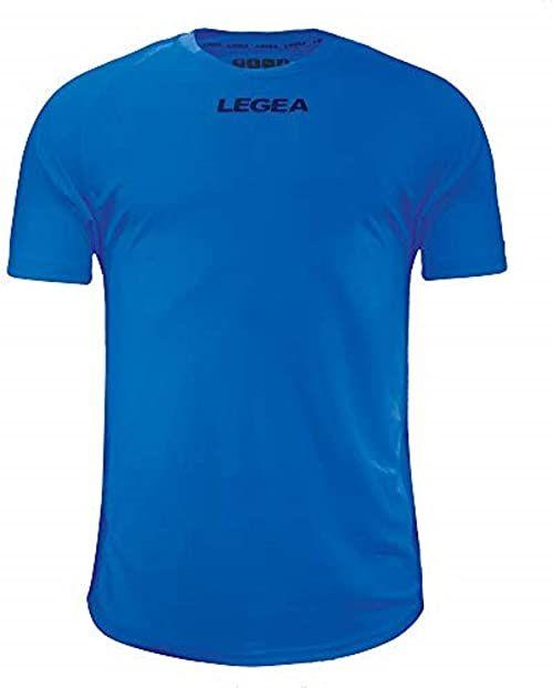 LEGEA T-Shirt Athletic Line niebieski L
