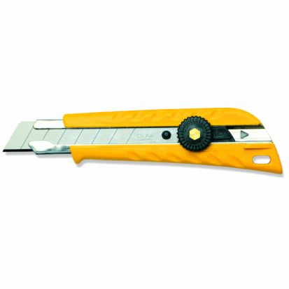 Nóż tnący OLFA L-1 - z blokowanym pokrętłem (L-1)
