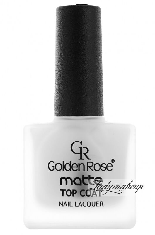 Golden Rose - Matte TOP COAT - Matowy utrwalacz do lakieru - O-GMN-TCT