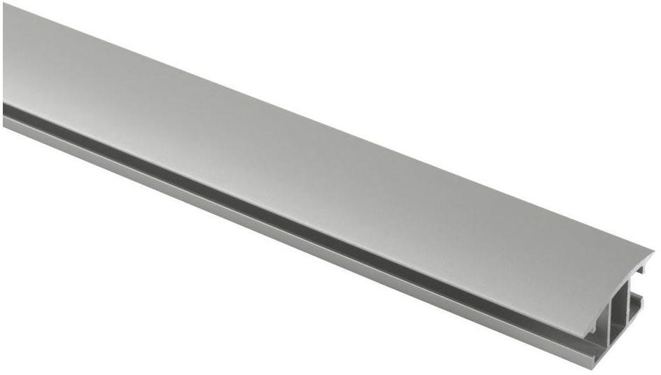 Profil szyna sufitowa 160 cm srebrny aluminiowy 20 mm płaski