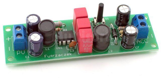 Solarna Ładowarka akumulatorów 12V (do montażu)
