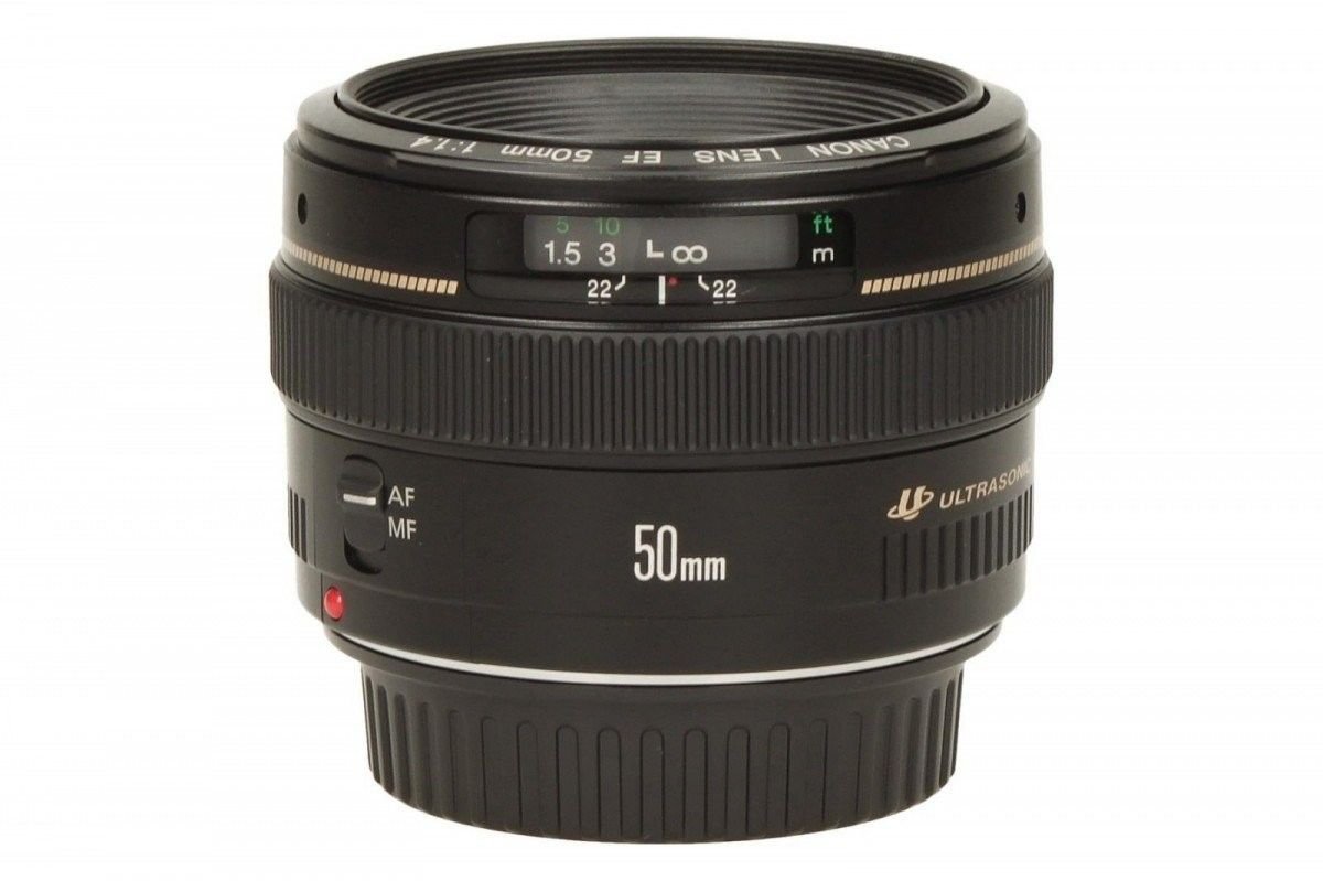 Canon EF 50mm f/1.4 USM Czarny