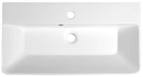 THALIE umywalka meblowa prostokątna ceramiczna 70x37 TH11070