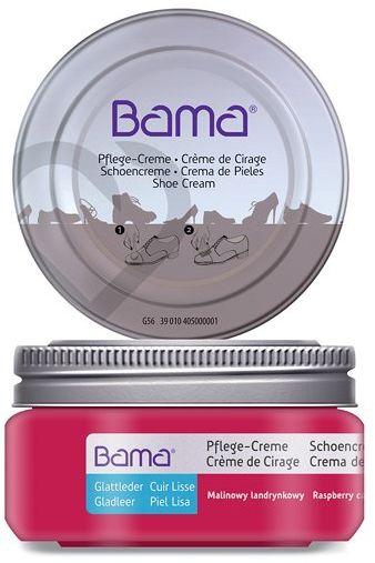 Krem do obuwia BAMA Premium 161 Candy Malinowy Landrynkowy w słoiczku - Różowy