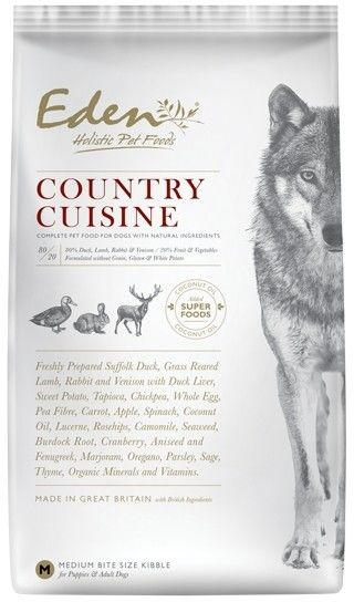 Eden holistic Country Cuisine Medium & Large breed 2kg