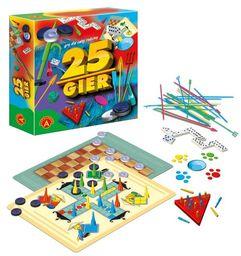 Zestaw 25 gier Gry dla całej rodziny ZAKŁADKA DO KSIĄŻEK GRATIS DO KAŻDEGO ZAMÓWIENIA