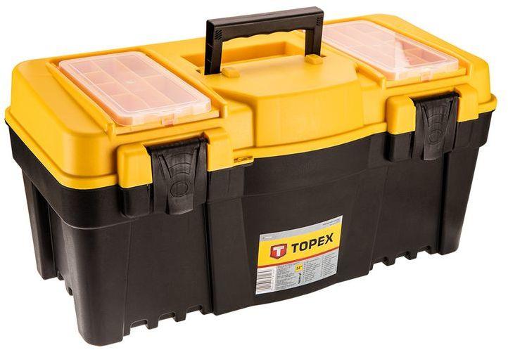 Skrzynka narzędziowa 22 cali z plastikowym uchwytem 530x240x260 79R126