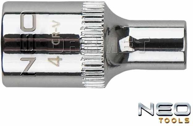 "Nasadka sześciokątna 1/4"", 6 x 25MM - NEO TOOLS (08-224)"