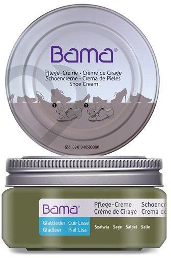 Krem do obuwia BAMA Premium 162 Szałwia 50ml w słoiczku - Khaki