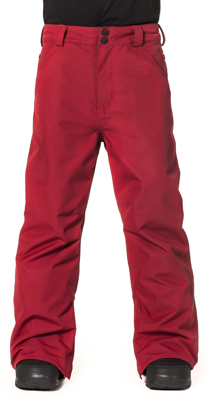 zimowe spodnie dziecięce HORSEFEATHERS PINBALL KIDS PANTS (red)