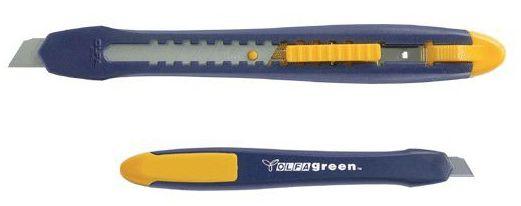 Nóż tnący OLFA ES-1 - z proekologicznej serii OLFAGREEN do cięcia papieru (ES-1)