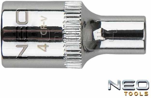 "Nasadka sześciokątna 1/4"", 5 x 25MM - NEO TOOLS (08-222)"