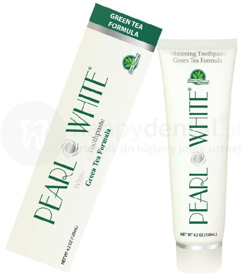BEYOND Pearl White GREEN TEA pasta wybielająca do zębów 120ml