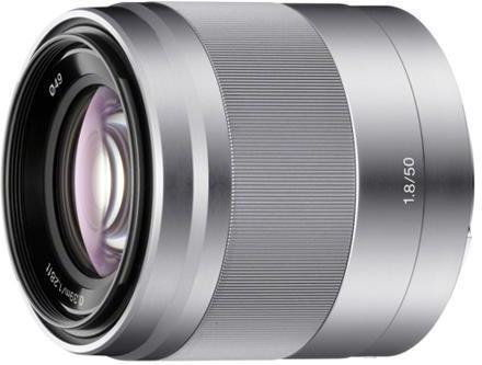 Sony E 50mm F1.8 OSS (SEL50F18/S) Srebrny