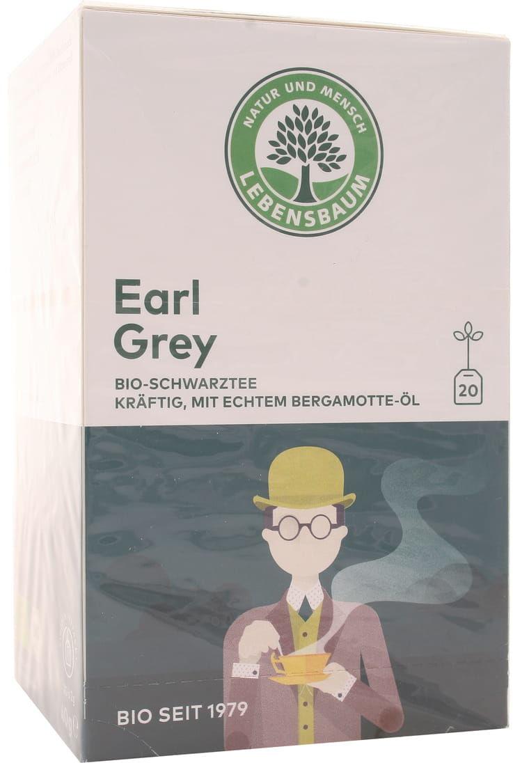 Herbata czarna Earl Grey ekspresowa BIO - Lebensbaum - 20 saszetek