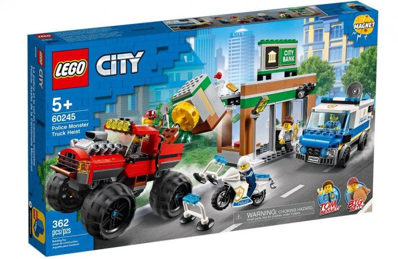 Klocki City 60245 Napad z monster truckiem