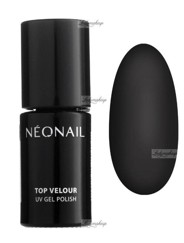 NeoNail - TOP VELOUR - UV GEL POLISH - Matowy top hybrydowy - 5551-7