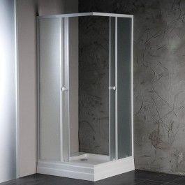 ALAIN kabina prysznicowa narożna, 800x800mm, szkło BRICK Odbiór osobisty BEZ OPŁAT !!! - Warszawa, Gdynia - Dostawa od 29.00zł