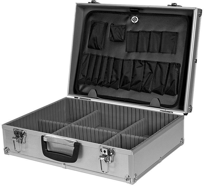 Walizka aluminiowa 45x15x32cm 2,4 kg 79R220