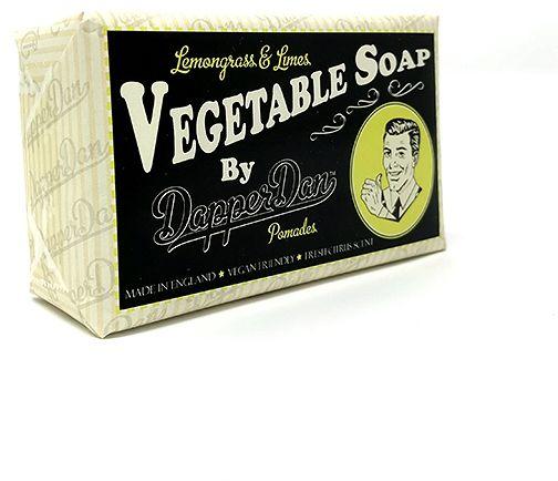 Mydło Roślinne do brody i ciała Trawa Cytrynowa i Limonka , Vegetable Soap 190g / Dapper Dan
