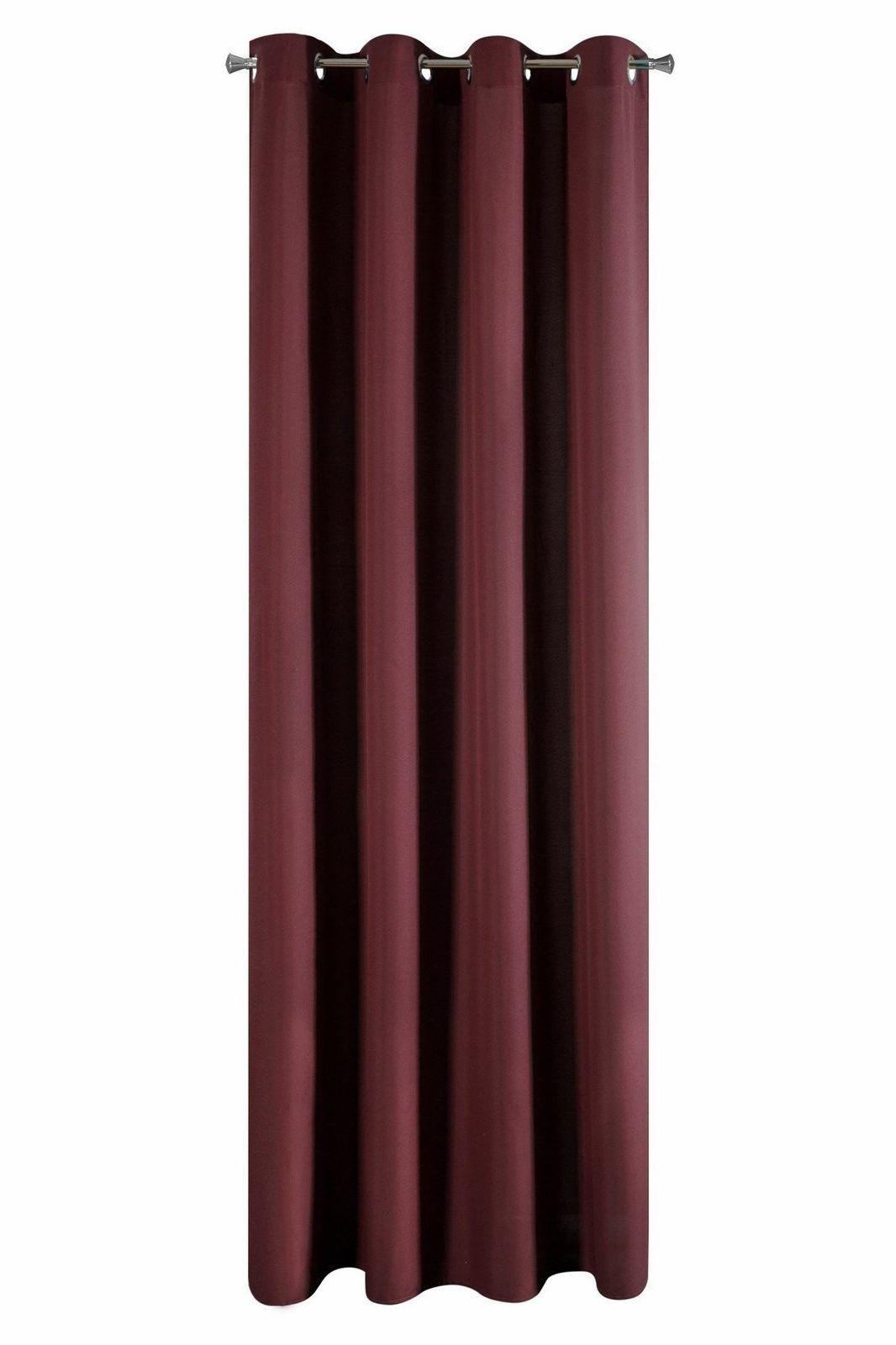 Zasłona Dekoracyjna Adore Bordo 140x250