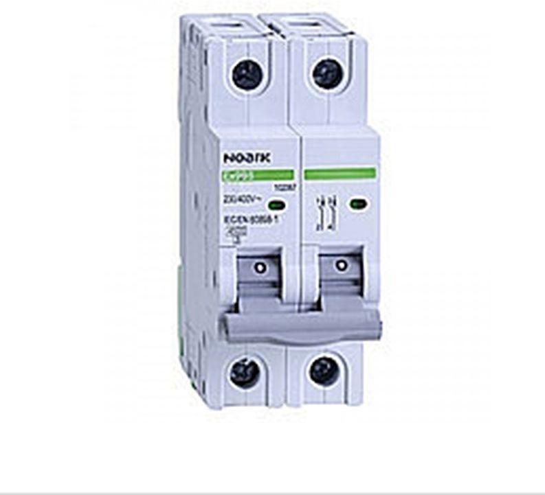 Wyłącznik nadprądowy 2P C 16A 6kA AC NOARK 100128