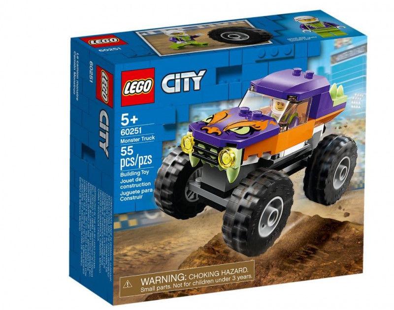 Klocki City 60251 Monster truck