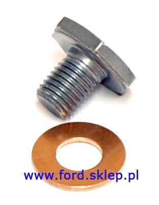 korek miski olejowej z uszczelką Ford - 1.4 TDCI 1.5 TDCI 1.6 TDCI
