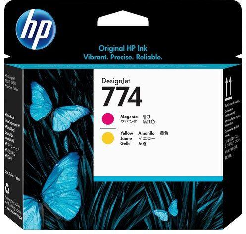 Wyprzedaż Oryginał Głowica drukująca HP 774 do HP DesignJet Z6610 Z6810 magenta + yellow