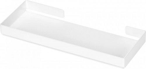 Tacka/półka na akcesoria łazienkowe 27x10,5x2,7 cm BIAŁY Mokko