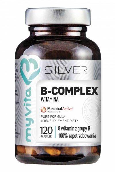 Witamina B-Complex Multipreparat 100% MyVita SILVER PURE