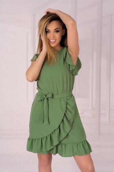 Sukienka damska merribel keema khaki