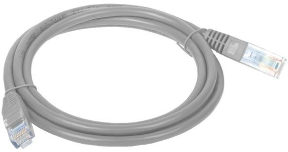 Patch Cable (Patchcord) - kabel sieciowy ethernet RJ45 UTP 20m kat.5e Szary