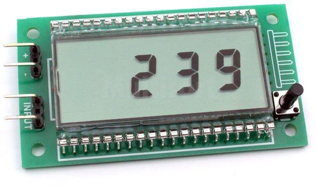 Uniwersalny licznik z LCD (do montażu)