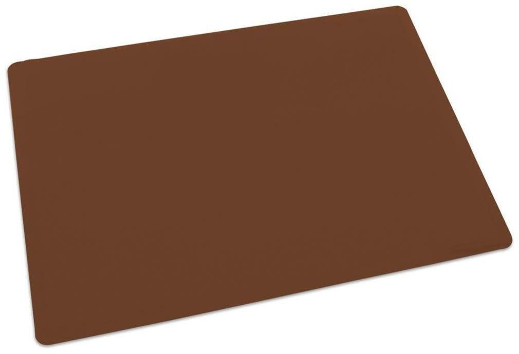 Orion Podkładka silikonowa 40 x 30 x 0,1 cm, brązowy