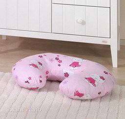 """MAMO-TATO Poduszka do karmienia """"ROGAL"""" Kotki różowe"""