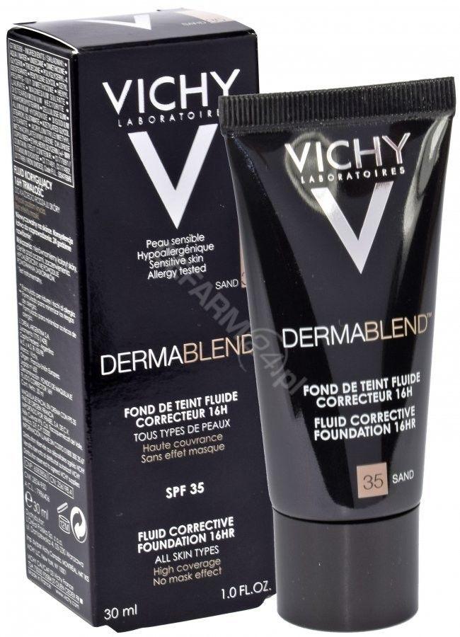 Vichy Dermablend podkład korygujący z filtrem UV odcień 35 Sand 30 ml